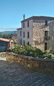 chambre de charme, avec terrasse sud mer montagne - Montalba-le-Château