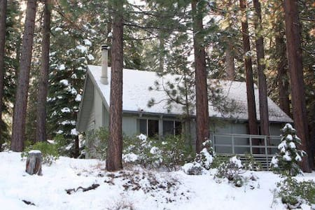 Absolute awesome cabin in one of best Tahoe local - South Lake Tahoe - Cabane