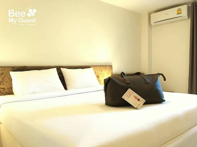 Standard Double Room  Room Facilities: Air Conditioning with individual units, LCD TV with cable channels, Refrigerator, Hot and Cold Shower, Complimentary toiletries, coffee, snacks, 3 bottled drinking water daily, Wi-Fi, and private parking  Room Size: 24 square meters  Bed Size: 1 King Size Bed