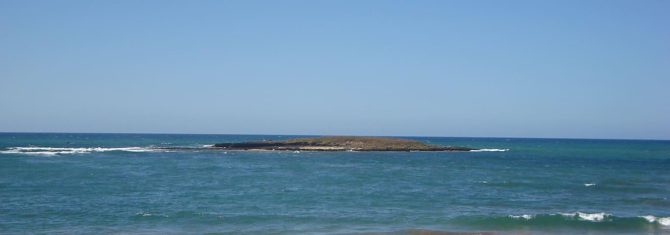 Large Cozy Oceanfront Beach House - Skhirat - Huis