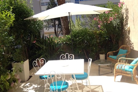 appartement à 2 pas de la mer et au calme - Sainte-Maxime