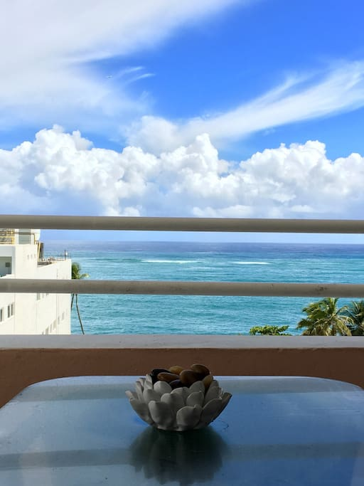 Relax!!! View from balcony and direct access to Master Bedroom...