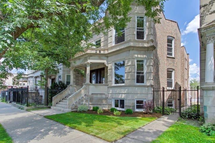 Newly-renovated historic home in Logan Square