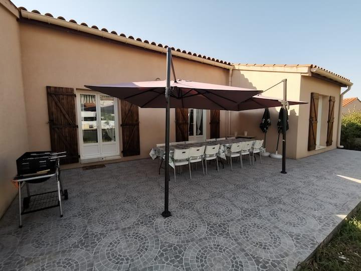 Maison de vacances 200m² 6 ch jardin saint Cyprien