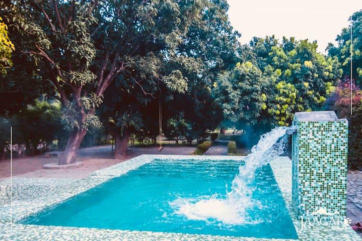 Jim Corbett-Jungle Retreat-Pool-Serenity,Ramanagar