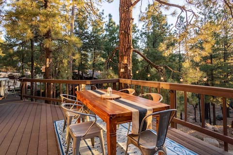 A-frame Cabin in the Hualapai Mountains