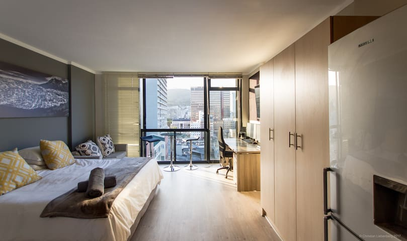 High-end city center studio with Awesome views