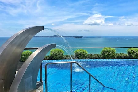 The Peak Towers Sea View 1 Bedroom High Floor