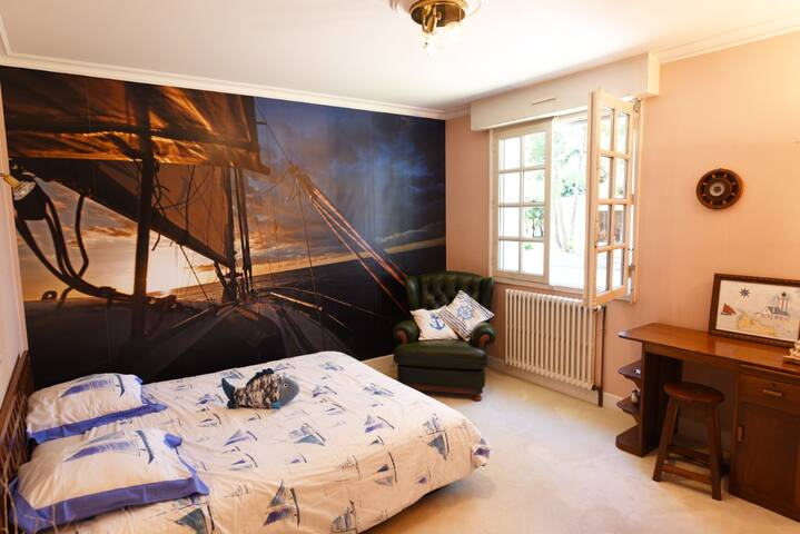 La cabine de marine