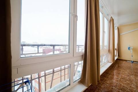 Красивый вид на Старый город с Панорамного балкона