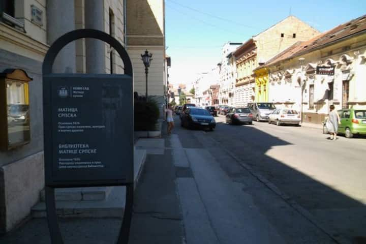"""Center"" Studio in the center of the Novi Sad"