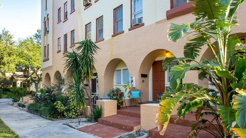Comfortable Renovated Studio - Old NE St Pete #22