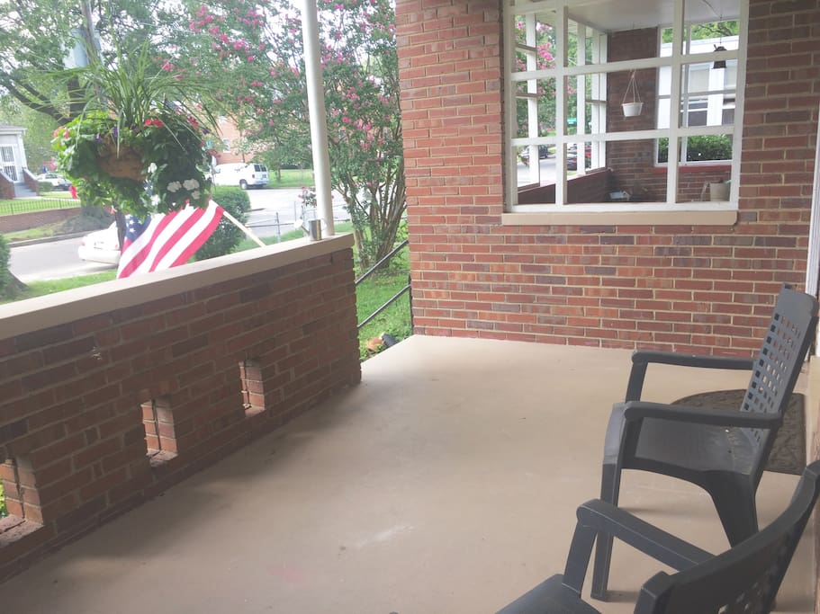 Front Porch - 2nd angle