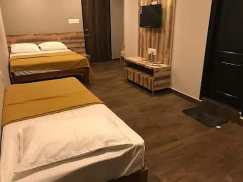 Triple Deluxe Room at Somwarpet Karnataka