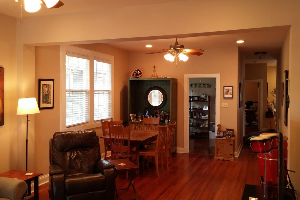 Living and Dining area, other view