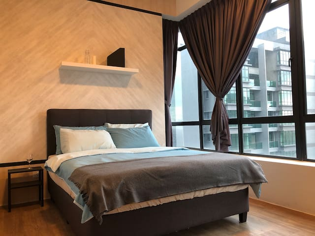 City of green mordern cosy rooms, near Bukit Jalil