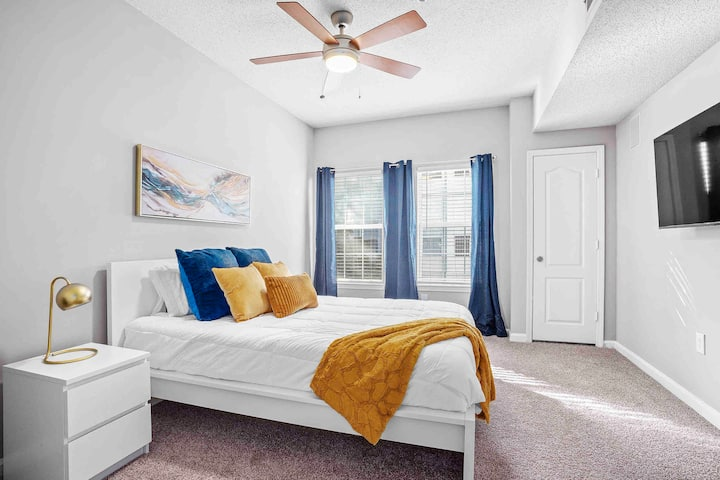 Buckhead 2BR Staycation, Private & Cozy, Sleeps 7