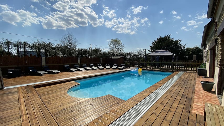 Gîte 2 à 6 personnes - piscine chauffée & couverte