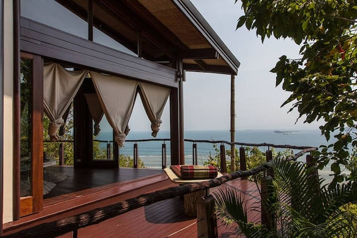 Tropical island sea view 1 bed villa - upper - Ko Samui - Overig