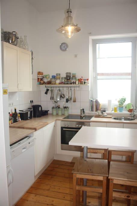Unsere kleine aber feine Küche