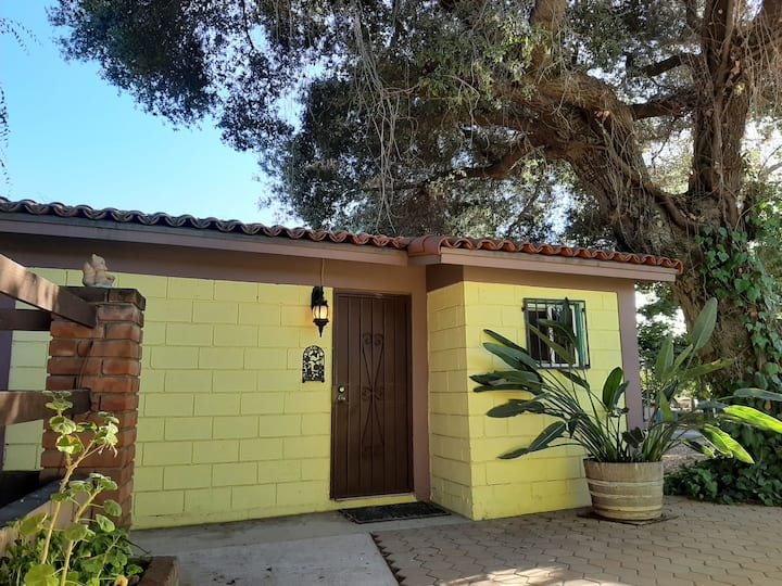 Casa campo Amarilla en San Antonio de las Minas BC