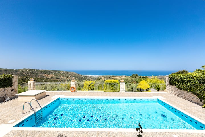 Villa Vaggelio,1 bedroom villa with swimming pool