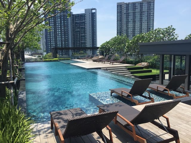 Your Nest in the Oasis minutes away from the buzz - Bangkok - Ortak mülk