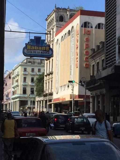 avenida Galeano centro comercial la época y la casa de la musica