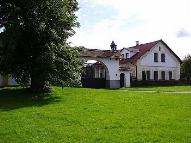 Stylový apartmán na statku - Sovětice