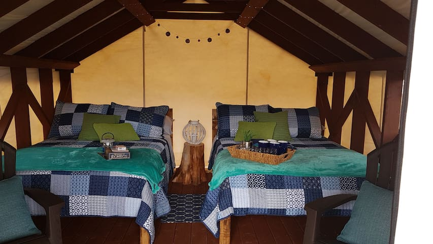 Elephants Head Glamping: Mountainview