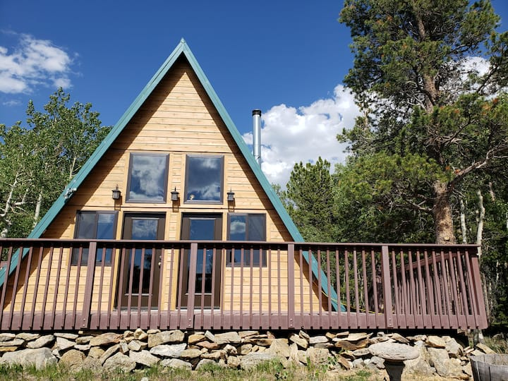 Private Mountain A-Frame with a view  near Denver
