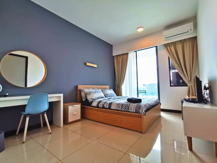 D'Wharf Port Dickson - Superb Seaview (2-3 Pax)