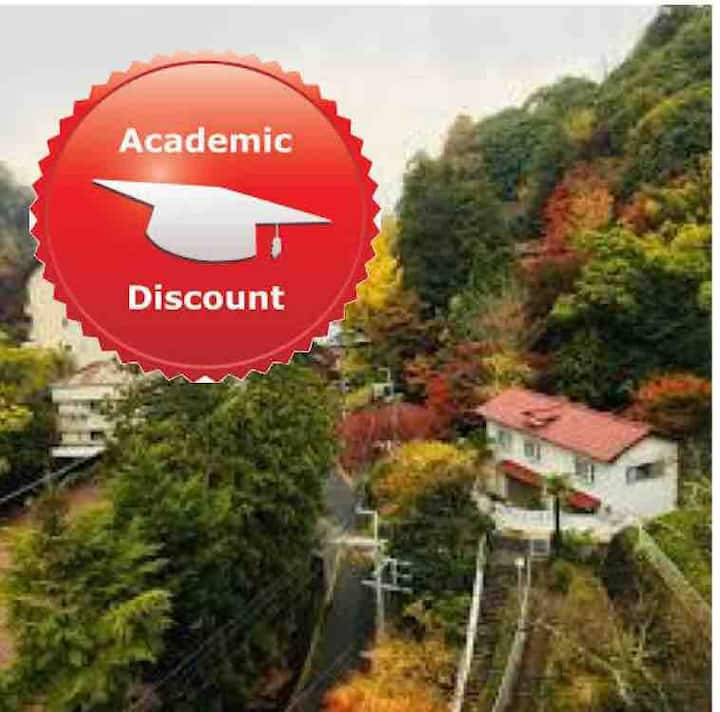 Academic discounts at arimaonsen takimoto-hutte
