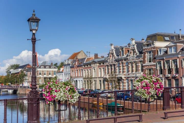 Haarlem, het huis aan de Gracht.