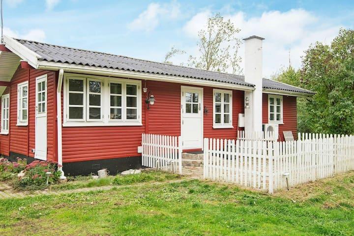 Acogedora casa de vacaciones en Jutlandia con terraza