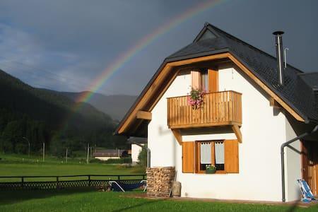 Casa con vista sui monti - Fusine in Valromana - 타운하우스