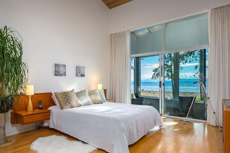 Spacious Waterfront Bedroom