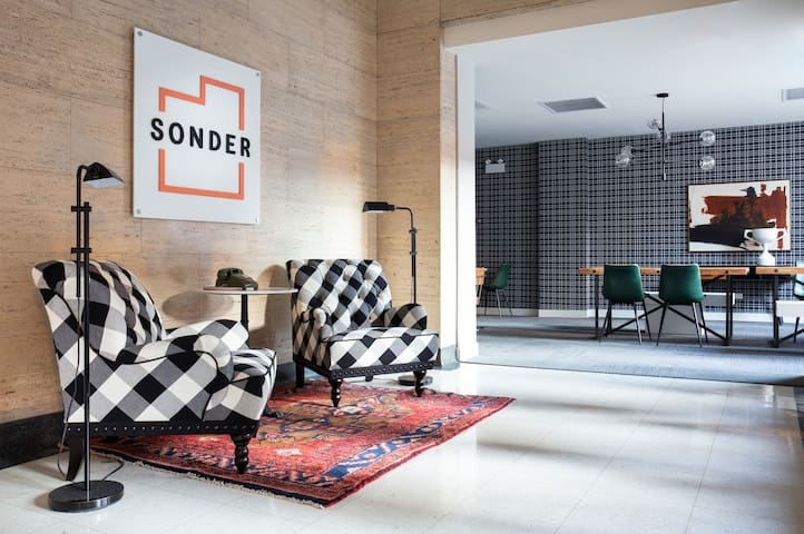 Sonder | The Plymouth | Simple 2BR + Rooftop