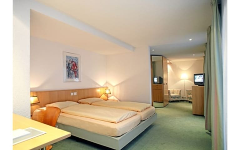 Deluxe-Doppelzimmer mit Terrasse im Casa Siesta