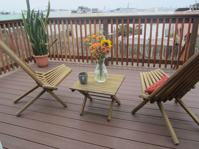 3 BR Home with Ocean Sunset Views - San Francisco - Hus