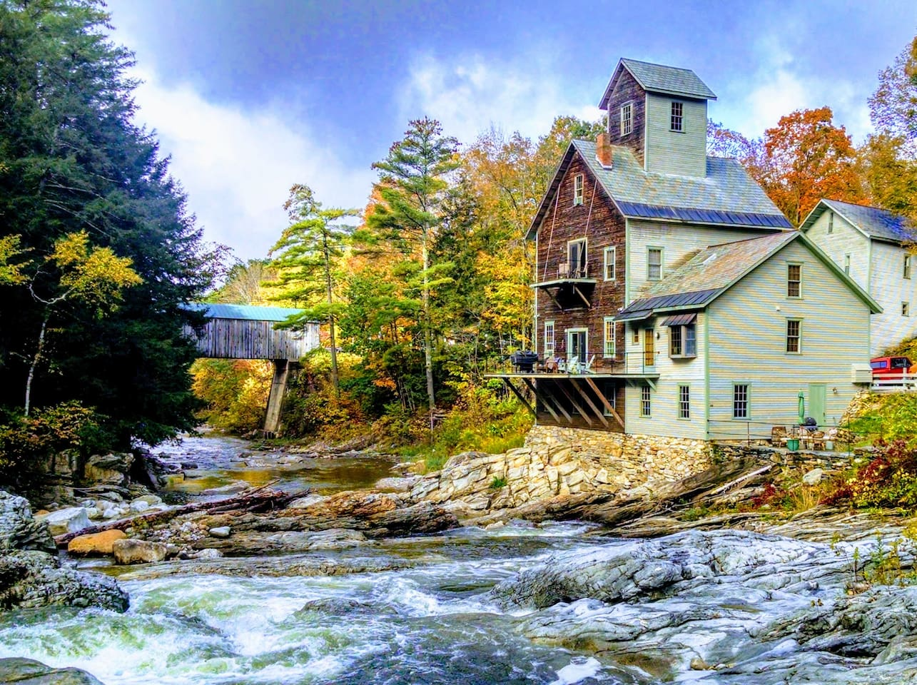 """As seen on HGTV's """"You Live in What"""" and soon to be on YouTube TV !  Come be part of history at Vermont's most exciting Airbnb."""