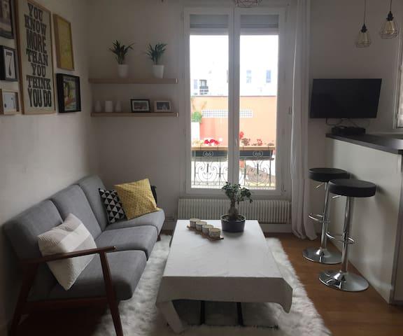 Appartement proche Montmartre/Paris