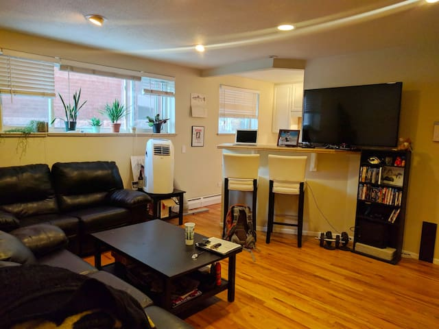 Cozy Condo 5-20 min Walk to DT, Parks, Music, Food