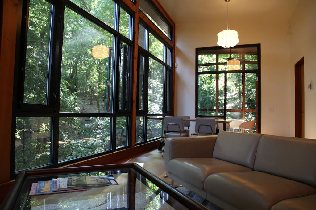 Villa Flore is a magnificent place to quickly escape the bustle of Atlanta.