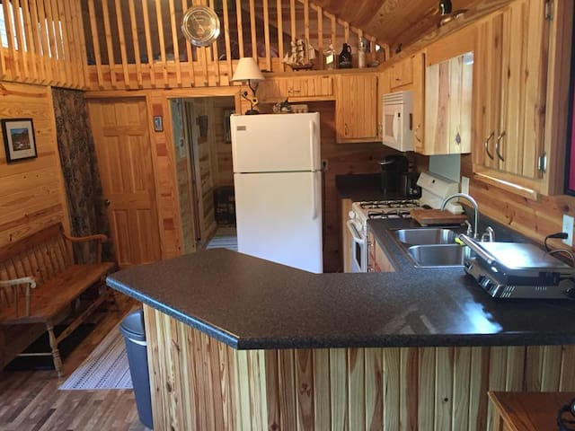 Mountain Cabin 18 Acres! Private & Quiet, Views!