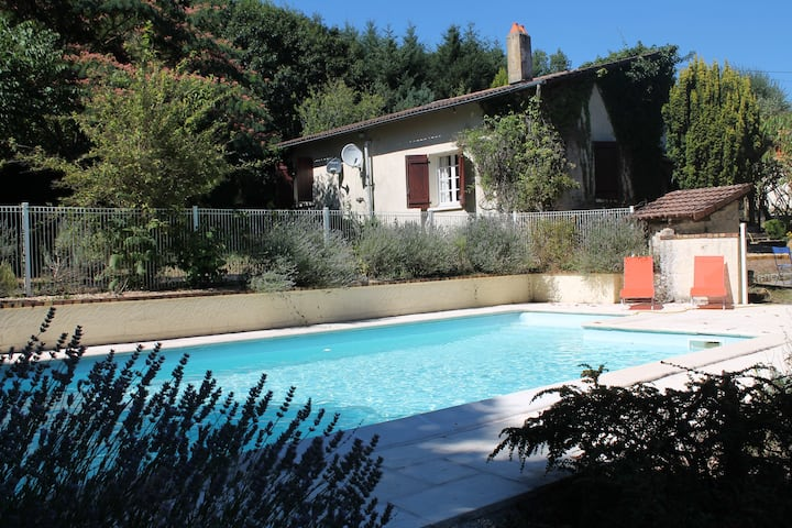 A comfortable, beautifully located French house.