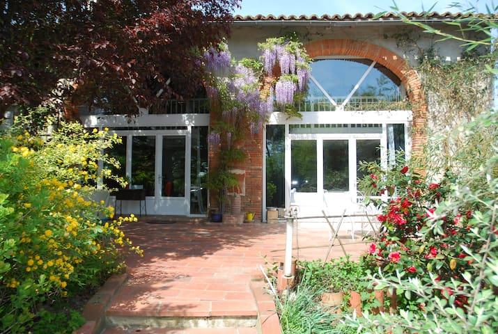 Ancienne Ferme Lauragaise rénovée - Saint-Pierre - Huis