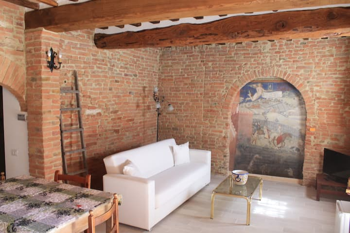 Historical apartment in Siena in a medieval prison