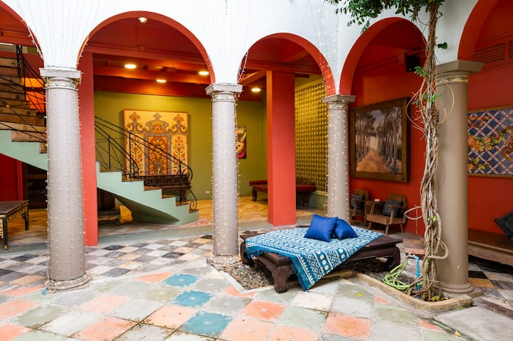Artist's House and Gallery • 4 Suites for 12 pax
