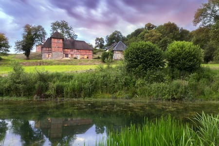 Stunning French Manoir in Normandy. Sleeps 13. - Aubry-le-Panthou - Ev